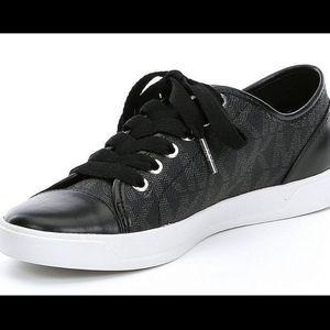 Michael Kors City Sneakers - Black - MK Logo
